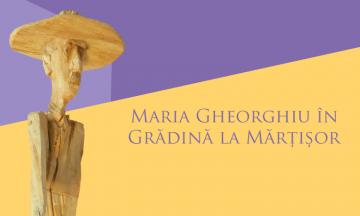 Maria Gheorghiu în Grădină la Mărțișor